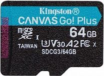 Карта памяти Kingston Canvas Go Plus microSDXC 64GB