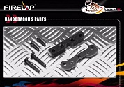 NANODRAGON2 FRONT SUSPENSION & KING PIN HOLDER SET