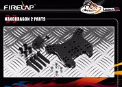 NANODRAGON2 REAR SHOCK STAY & BODY MOUNT SET